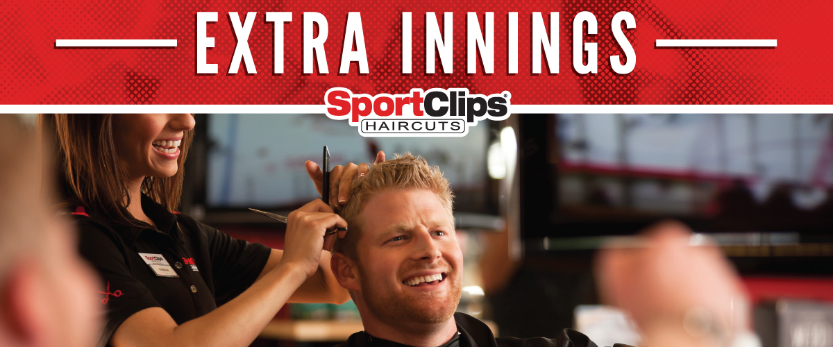 The Sport Clips Haircuts of Crestview Extra Innings Offerings